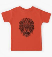 Ornate Lion Kids Tee