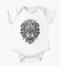 Ornate Lion One Piece - Short Sleeve