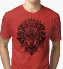 Verzierter Löwe Vintage T-Shirt