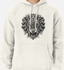 Ornate Lion Pullover Hoodie