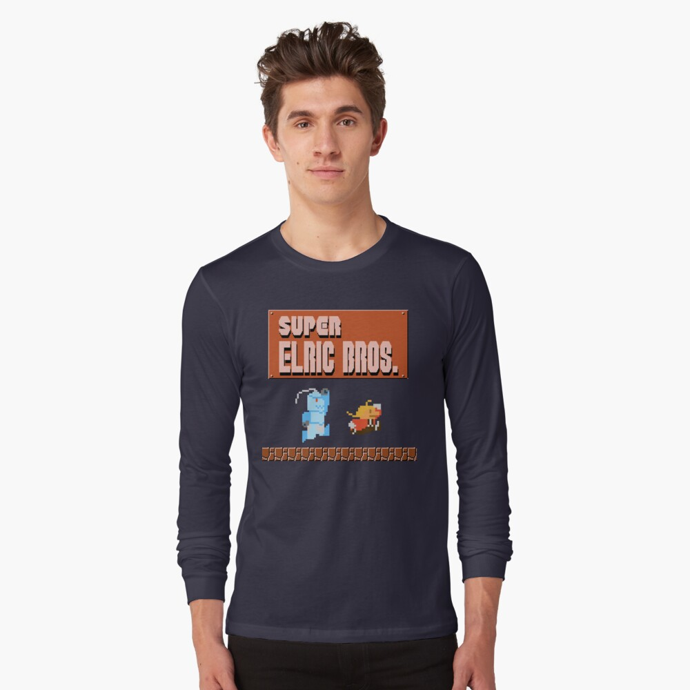 Super Elric Bros. Long Sleeve T-Shirt Front