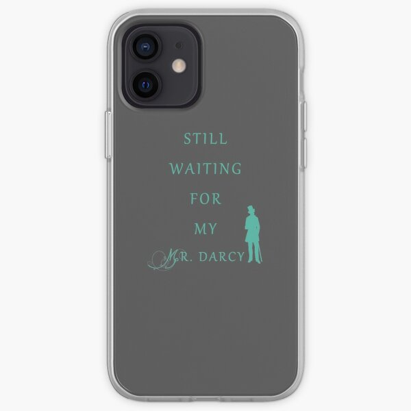 Waiting for My Darcy - Green iPhone Soft Case