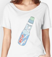 Kawaii Soda Drink (*background color customizable) Women's Relaxed Fit T-Shirt