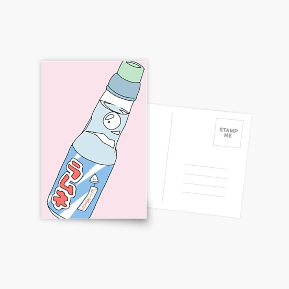 Bebida de soda Kawaii Postal