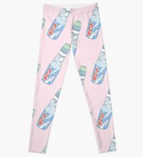 Kawaii Soda Drink (* couleur de fond personnalisable) Leggings
