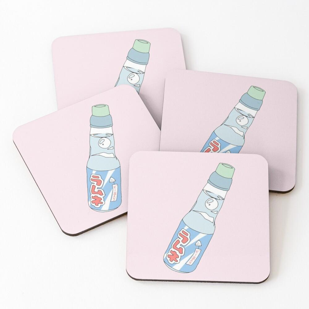 Kawaii Soda Drink  Coasters (Set of 4)