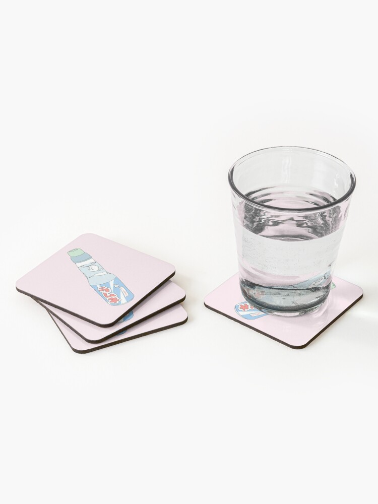 Alternate view of Kawaii Soda Drink  Coasters (Set of 4)