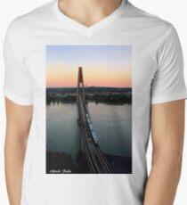 Sky Train ! Men's V-Neck T-Shirt