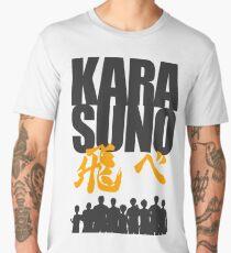 Karasuno Fly! with team  Men's Premium T-Shirt