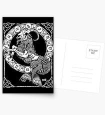 Postales Zombstrology Capricorn