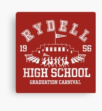 Grease - Rydell high School Graduation Carnival Canvas Print