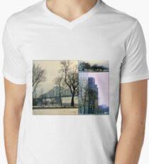 Montreal, Quebec, Canada Men's V-Neck T-Shirt