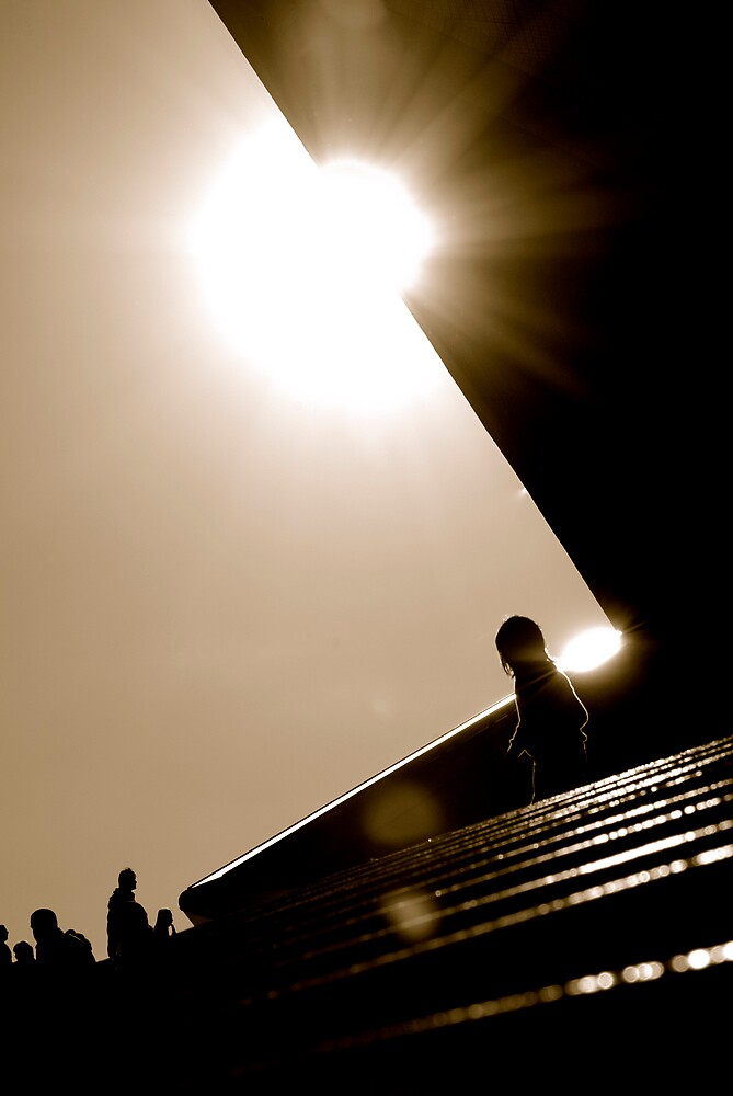 child in sunlight by alfarman