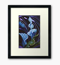 The Lily Framed Print