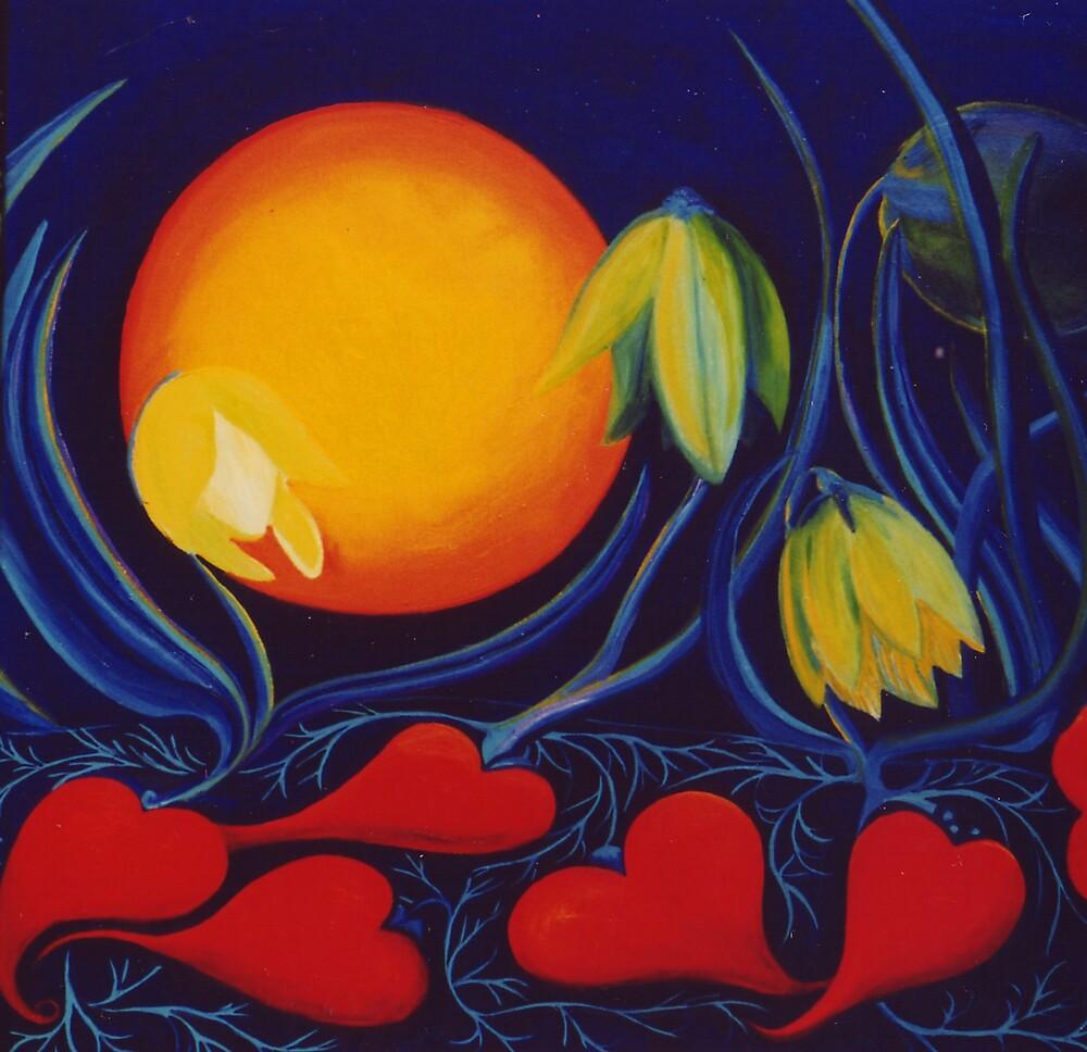 The Love of a Flower by Jill Mattson