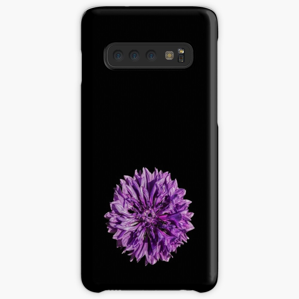 Purple cornflower Case & Skin for Samsung Galaxy