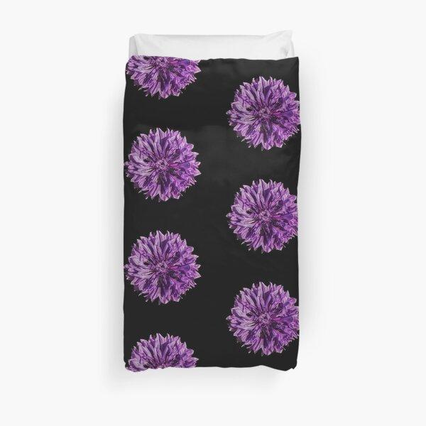Purple cornflower Duvet Cover