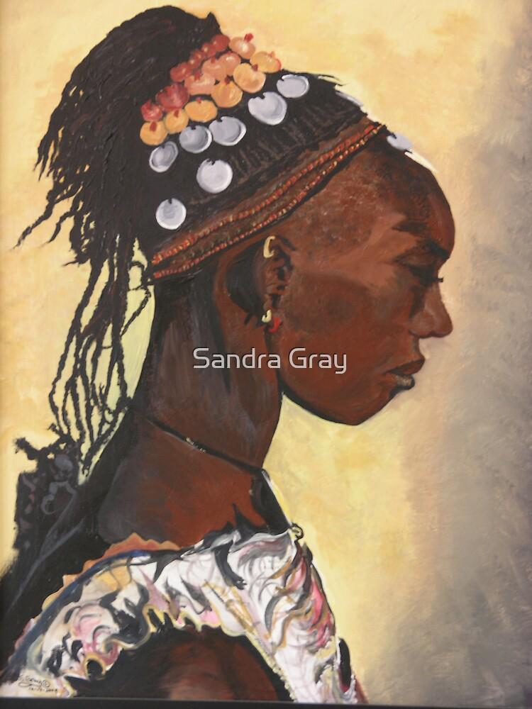 African Princess by Sandra Gray