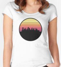Houston Skyline Women's Fitted Scoop T-Shirt
