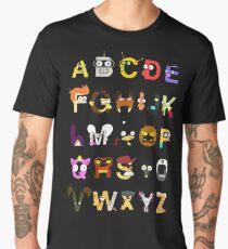 comic alphabet Men's Premium T-Shirt