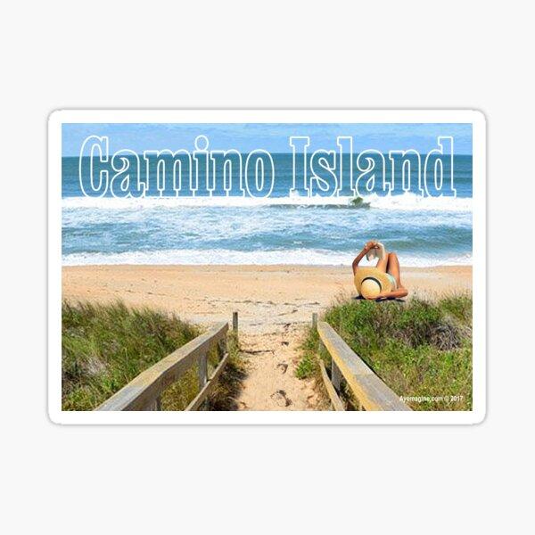 Camino Island Sticker