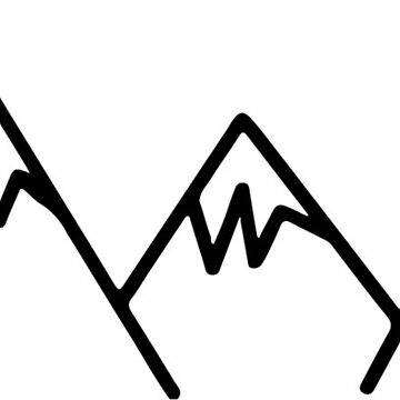 Mountain sticker by sledgehammer