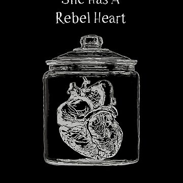 She Has A Rebel Heart - Darkness by lunafate
