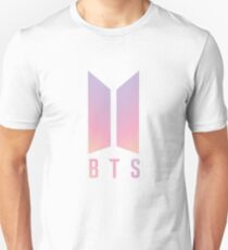 BTS Coloured logo Unisex T-Shirt
