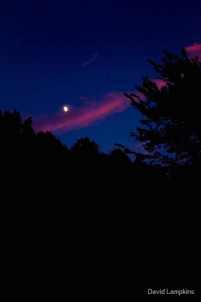 Sunset-Moonrise 1 by David Lampkins