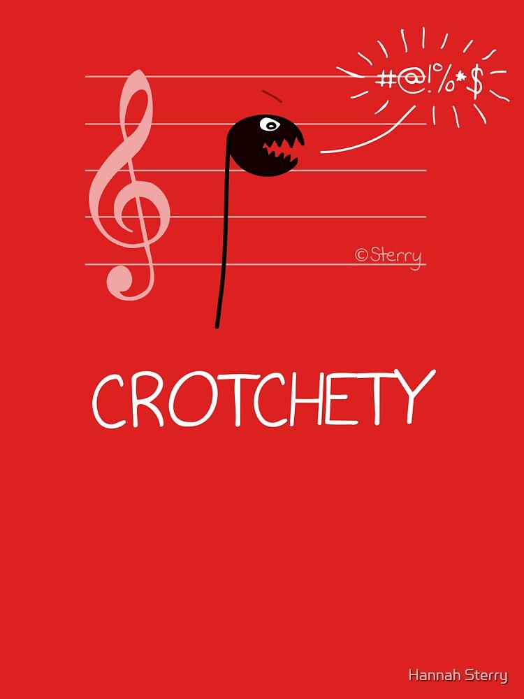 Crotchety Crotchet - Music Cartoon by HannahSterry