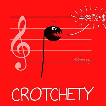 Crotchety Crotchet - Music Cartoon by HannahSterry