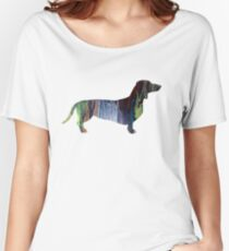 Dachshund  Women's Relaxed Fit T-Shirt