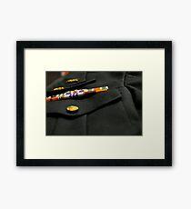 military  Framed Print