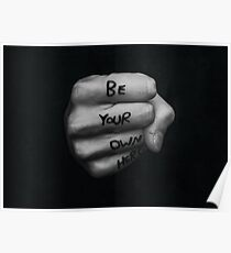 Be Your Own Hero - FIST Poster
