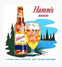 HAMM'S Photographic Print