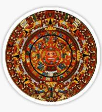 Pegatina Calendario azteca