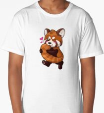 Red Panda Long T-Shirt