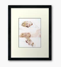 BTS JIMIN SERENDIPITY Framed Print
