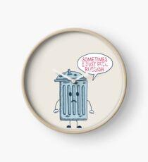 Rubbish Clock