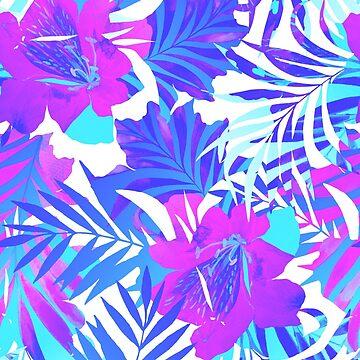 Be Brave - an early morning tropical pattern. by belokrinitski