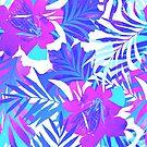 «Sé valiente: un patrón tropical temprano en la mañana.» de Elena Belokrinitski