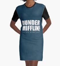Dunder Mifflin Graphic T-Shirt Dress