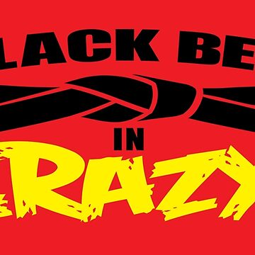 Black belt in CRAZY! by popnerd