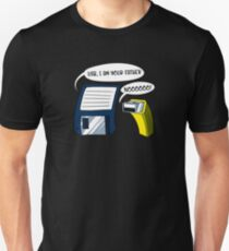 USB I Am Your Father! Funny Floppy Disk Geek  Unisex T-Shirt