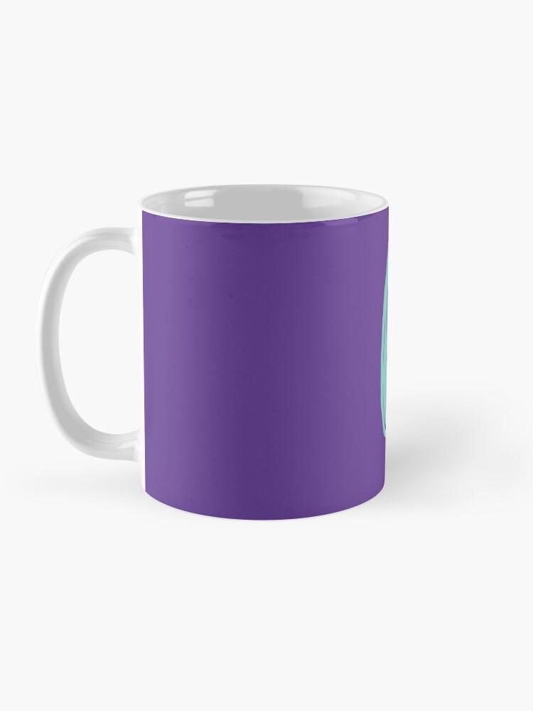 Alternate view of Good Vibes - Turquoise and purple Mug