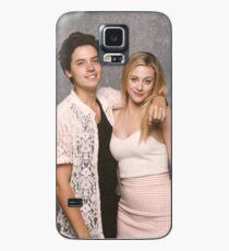 Funda/vinilo para Samsung Galaxy Riverdale - Jughead y Betty