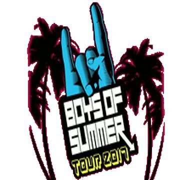 Boys of summer tour, 2017, stickers, shirts and more by jasonaldo00