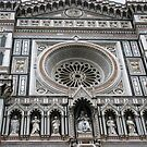 Facade of the Duomo - Florence by Marilyn Harris
