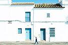 Weiße und blaue Stadt von josemanuelerre