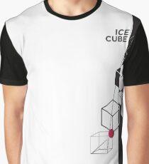 Ice Cube, Necker Cube Graphic T-Shirt